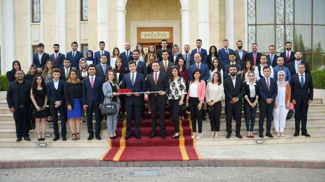 TEDxNishtiman Met P.M Nechirvan Barzani